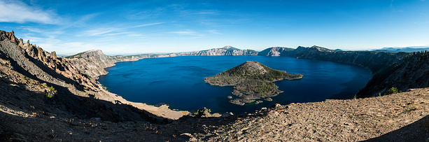 Blaues Juwel: Crater Lake