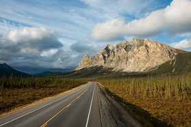 Felsen am Dalton Highway