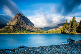 Morgenstimmung im Glacier Nationalpark