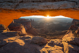 Sonnenaufgang in den Canyonlands