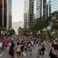 Canada Day am 1. Juli 2015 in Vancouver