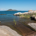 Ruhiger Malawisee bei Cape Maclear