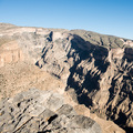 Der Grand Canyon des Oman bei Jebel Shams