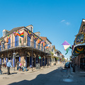 Panorama in der Bourbon Street