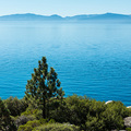 Blau in Blau: Lake Tahoe